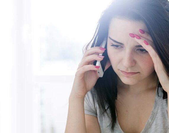 paura telefonate recupero crediti